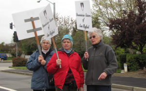 Good Friday demonstration at Livermore Labs