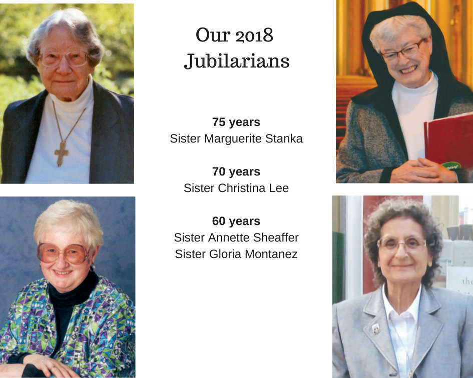 Jubilee 2018: Meet Our Jubilarians