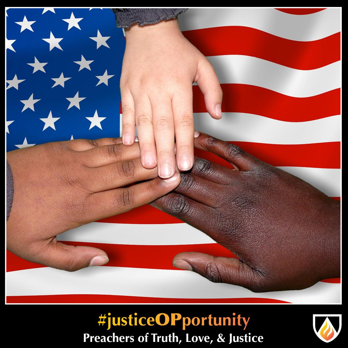 #justiceOPportunity Thursday—October 29, 2020