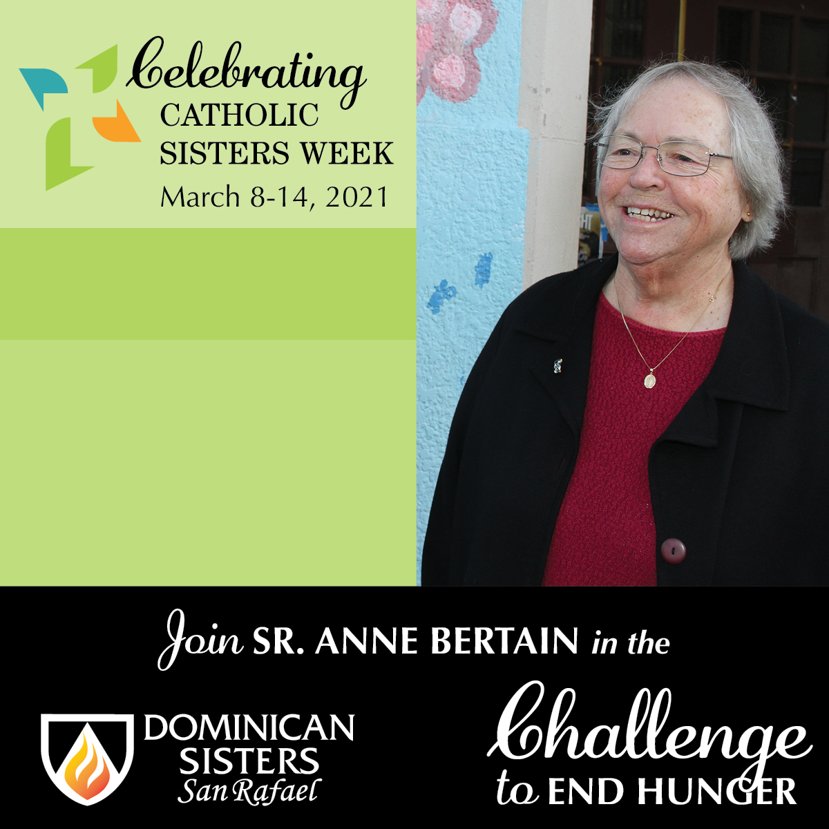 Challenge to End Hunger: Sr. Anne Bertain, OP