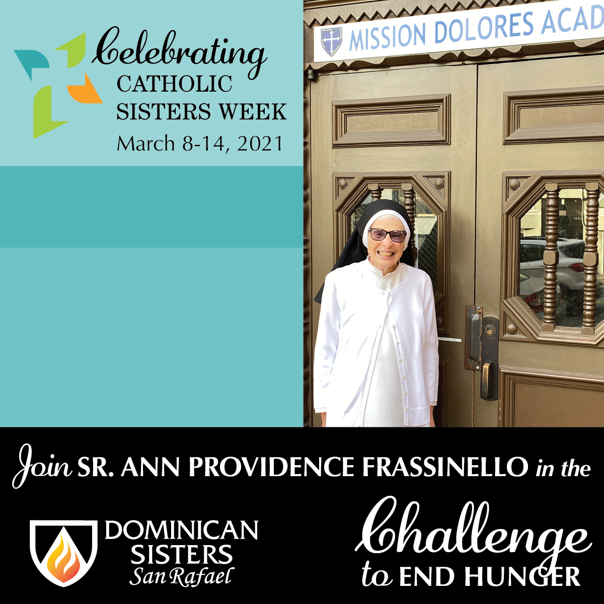 Challenge to End Hunger—Sr. Ann Providence Frassinello, OP
