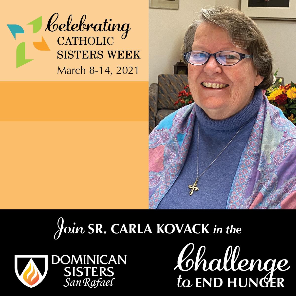 Challenge to End Hunger—Sr. Carla Kovack, OP