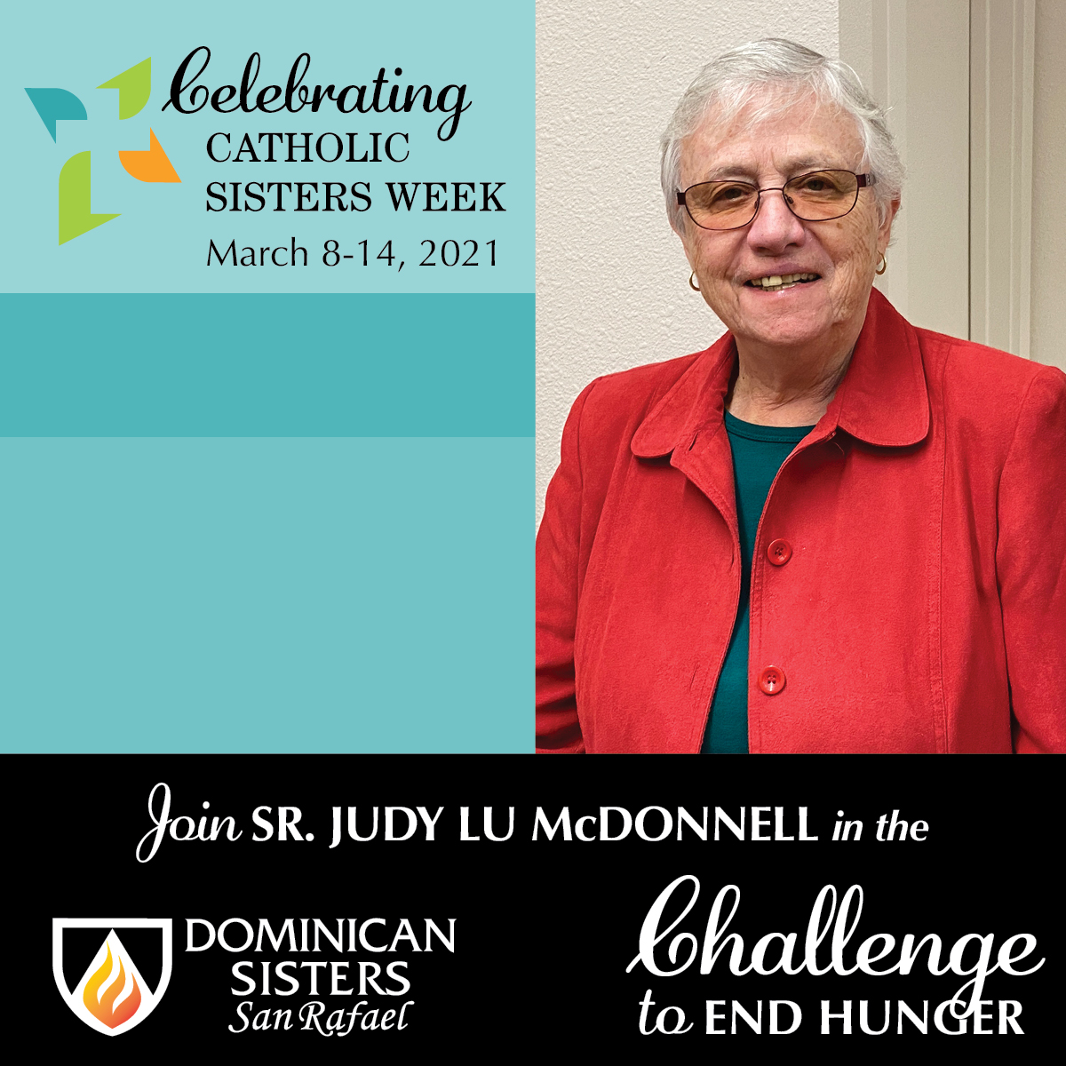 Challenge to End Hunger—Sr. Judy Lu McDonnell, OP
