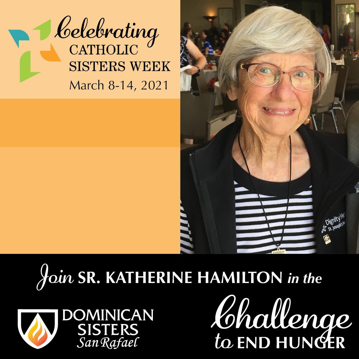 Challenge to End Hunger—Sr. Katherine Hamilton, OP